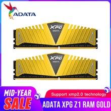ADATA XPG Z1 PC4 8GB 16GB DDR4 3000 3200 2666 MHz PC pamięci Ram DIMM 288 pin pulpit Ram wewnętrzna pamięć Ram 3000MHZ 3200MHZ