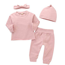 Oklady Toddler Infant Baby Boy Clothes Long Sleeve Hoodie Tops Sweatsuit Pants Outfit Set