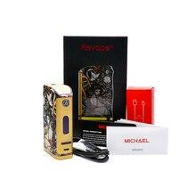 100% Оригинальные asvape Michael VO200 TC mod Devils Night edition для электронных сигарет танк питание от аккумулятора 18650