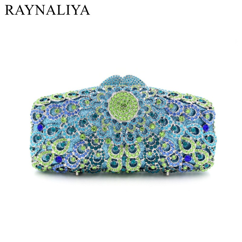 Handmade Diamonds Holiday Stylish Day Clutches Party Bags Prom Crystal Sequined Evening Bag Women Clutch Purse Smyzh-f0340 silver metal lady fashion evening bag silver stylish day clutches prom ladies handbag yls g74