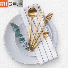 Xiaomi Cor Pure Kit Maxx Maision Talheres Colher, Garfo, Faca, Colher De Chá 4 pcs Alta Qualidade em aço inoxidável