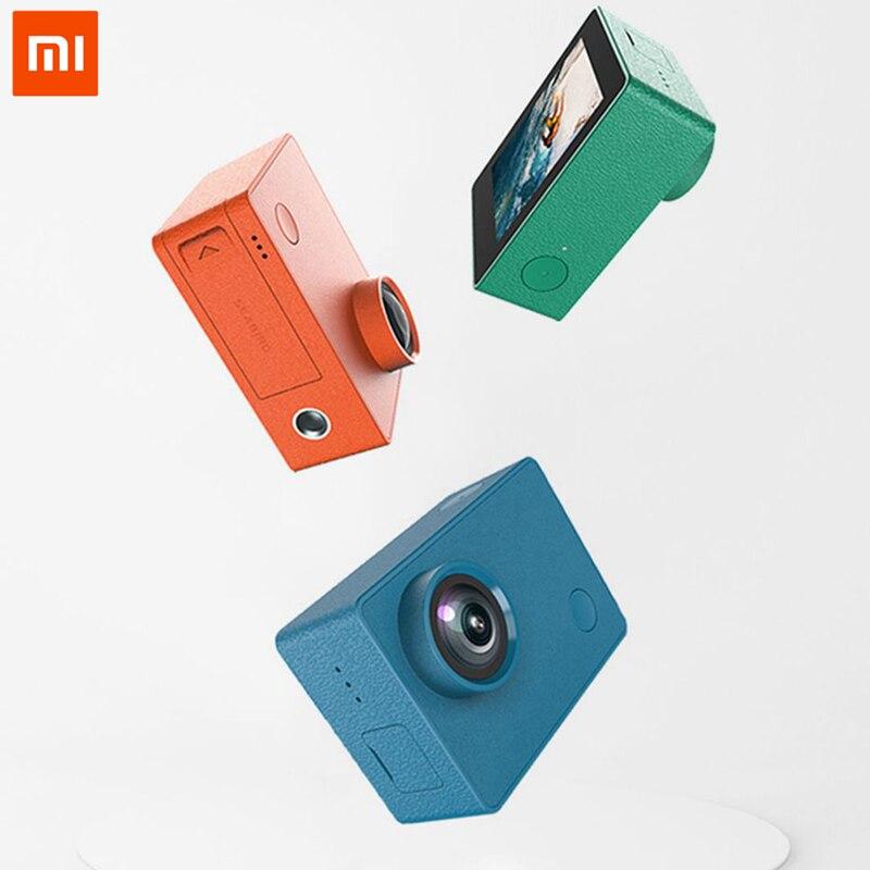 Xiaomi SEABIRD 4 K/30fps 720 P 12Mp Sport Action caméra petite caméra Wifi App contrôle 145 degrés étanche plongée plusieurs prises de vue