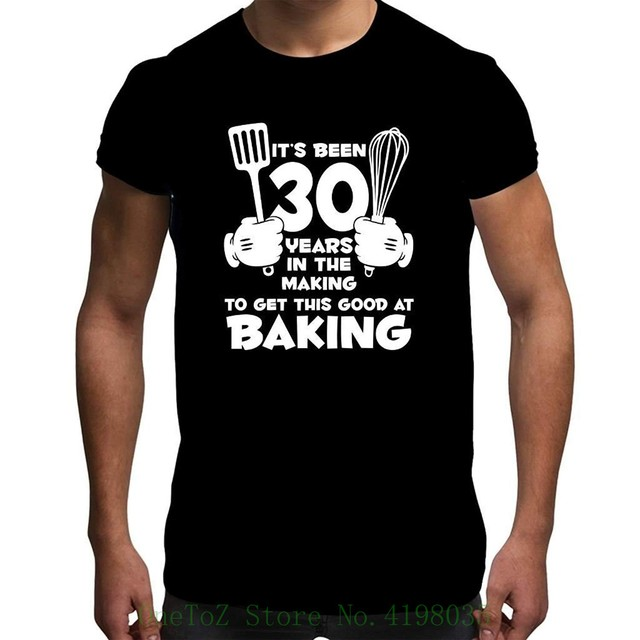 Mens 50th Birthday T Shirt Its Been 50 Years Baking Gifts Printed Round Men Tshirt Cheap Price