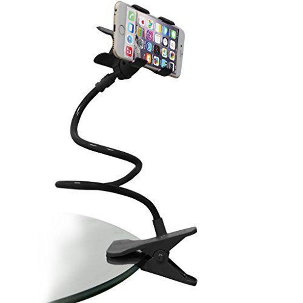 2f06d9a79fbb Universal Cell Phone Holder Long Arm Lazy Mount Bracket Stand for Desk Bed  360 Degree Flexible Car Phone Holder stand-in Mobile Phone Holders   Stands  from ...
