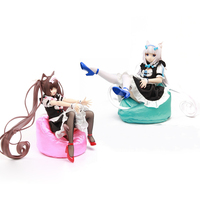 NEW Soft & Hard Material NEKOPARA Vol.1 Soleil Opened Sexy Maid Girls Vanilla & Chocolate PVC Figure Model Toys Brinquedos