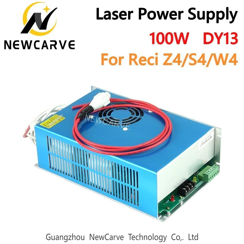CO2 Laser DY13 источник питания 100 Вт для W4 / Z4 / S4 Reci CO2 лазерная трубка драйвер гравировальный станок для резки NEWCARVE