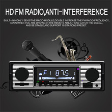 hot deal buy 1din car radio 87.5-108 mhz autoradio stereo fm receiver bluetooth bt/usb/sd/fm/wma/mp3/wav audio radios mp3 player