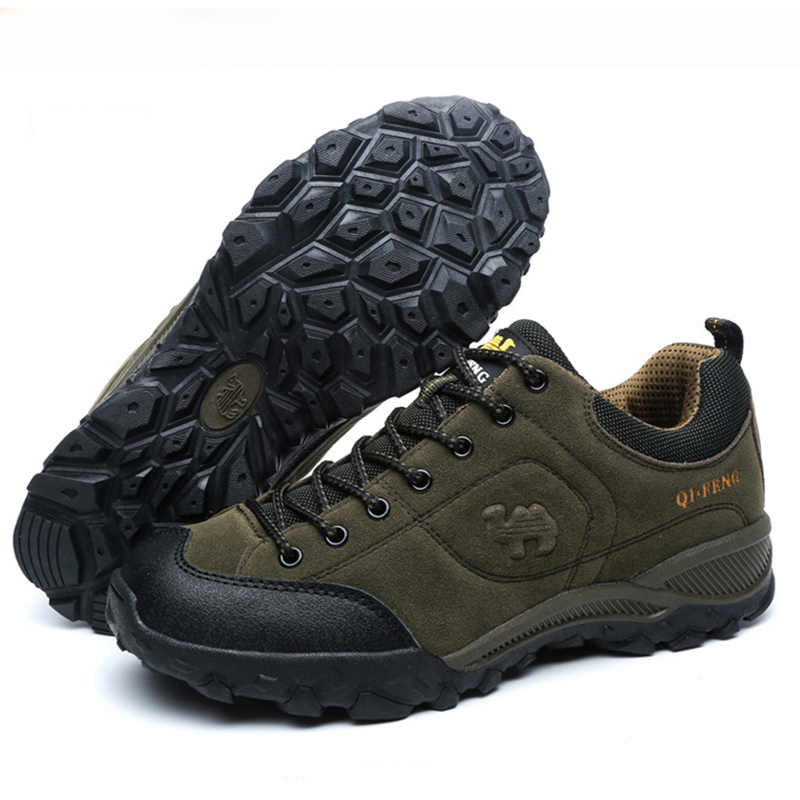 NEW Outdoor Men's Hiking Shoes Durable Breathable Trekking Climbing Sports Mountain Sneakers Shoes For Man famous brand men s leather outdoor trekking hiking shoes sneakers for men sports climbing mountain shoes sneaker man senderismo