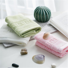 SBB Special Offer 100% cotton child thicken face towel Pure color fret highly absorbent soft Intimate gift for