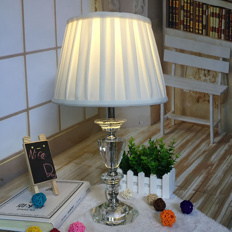 Tuda Free Shipping Modern Design Table Lamp K9 Crystal Table Lamp American Style Desk Lamp For Hotel Bedroom Home Decor tuda 30 5x70cm free shipping european style table lamp led table lamp romantic design home decor table lamp for bedroom foyer