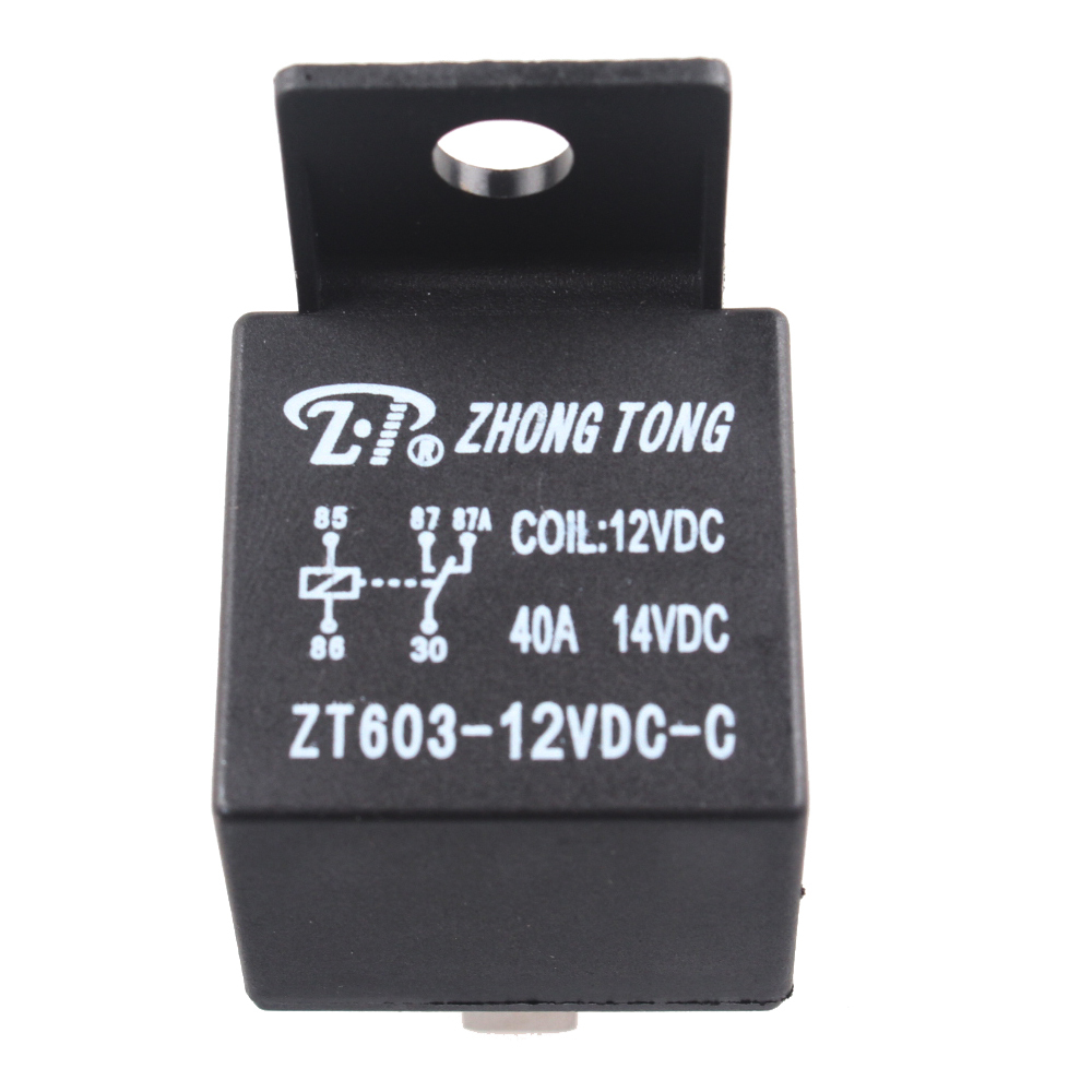 EE support  10 X Car Truck Motor Automotive DC 12V 40A 40 AMP SPST Relay 5 Pin 5P Relays Car Styling XY01