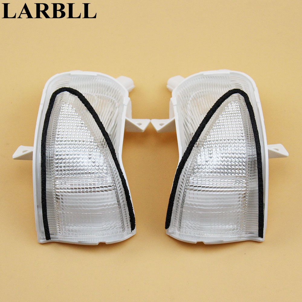 LARBLL 2PCS Left&Right Side Mirror Turn signal indicator Led lights For HONDA FIT JAZZ 2009 2013 34350TG5H01 34300TG5H01