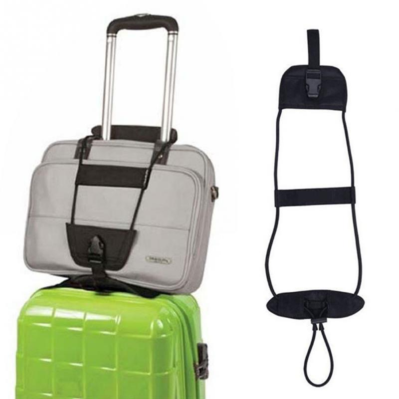 Travel Luggage Suitcase Carry On Bungee Adjustable Belt Bag Strap Suitcase Accesory цена