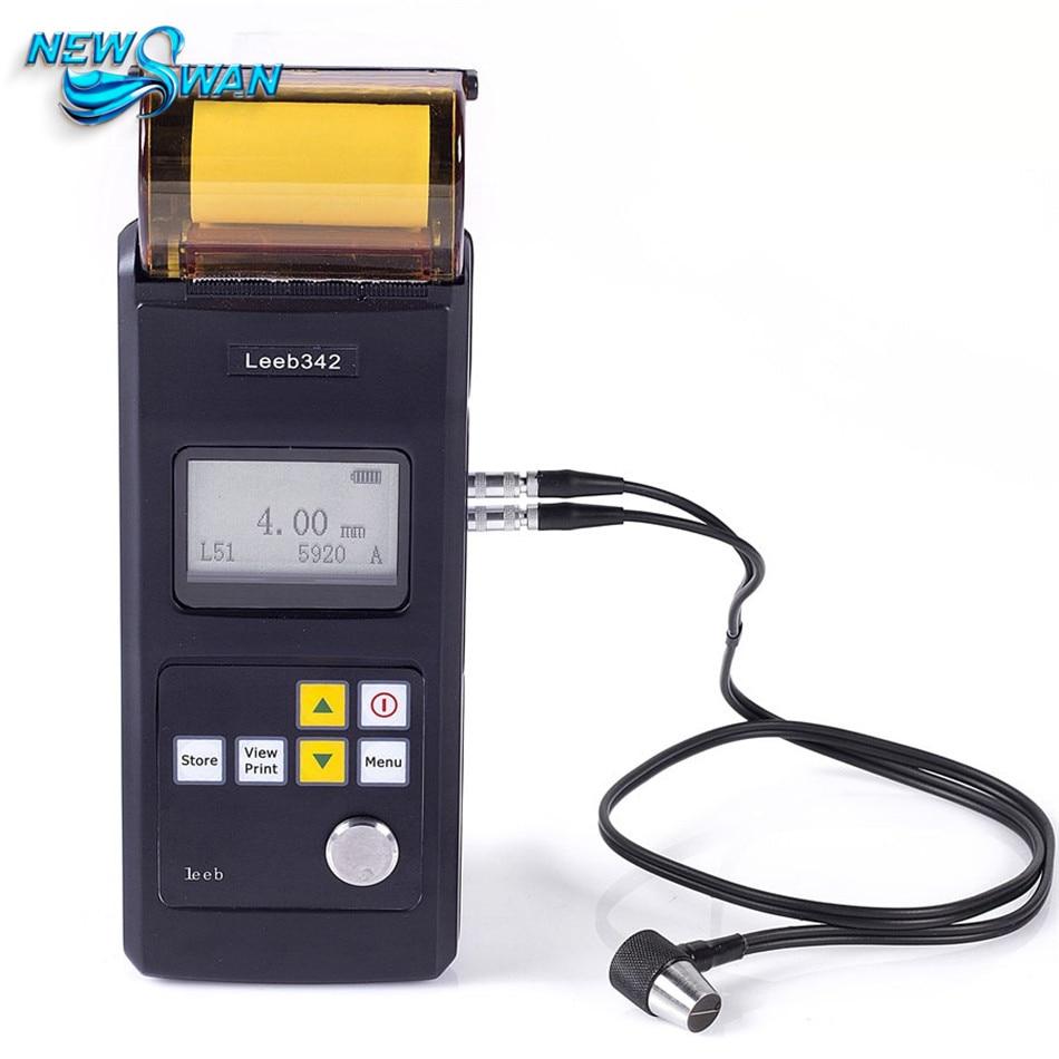 Leeb342 mesureur d'épaisseur à ultrasons mesureur d'épaisseur à ultrasons pour acier fonte aluminium cuivre plastique verre céramique