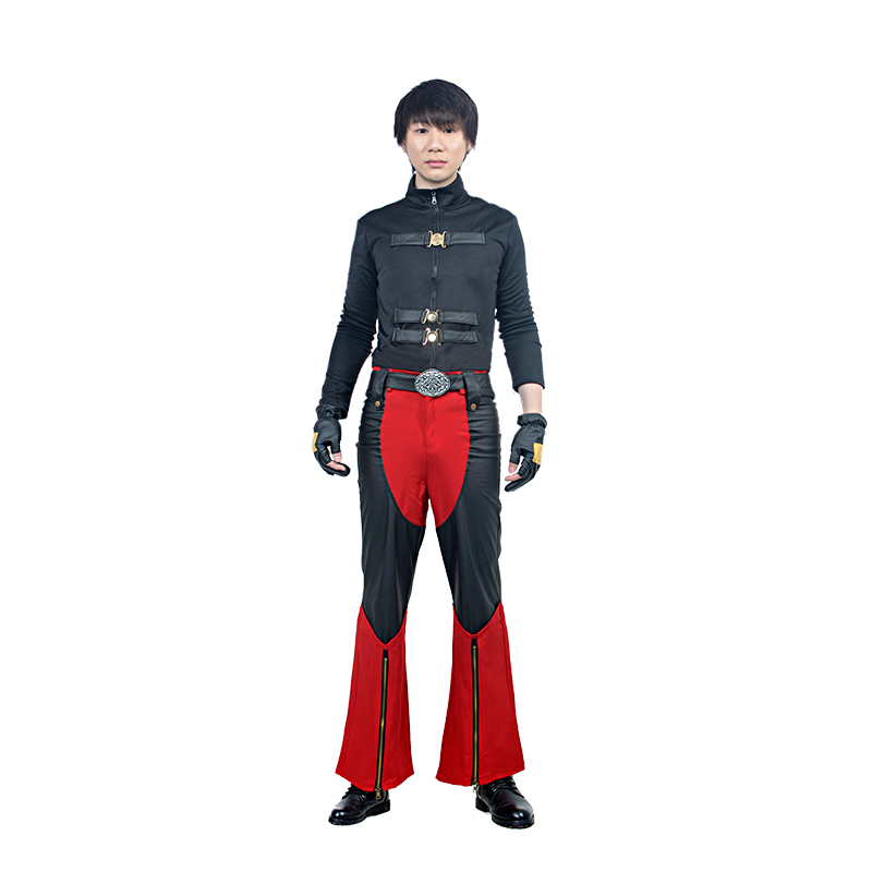 Upgraded Version Devil May Cry IV 4 Dante Cosplay Costume Adult Men Anime Character Costumes Men Faux Leather Custom Made
