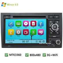 MTK MT3360 RDS BT Wince 6.0 7″ Car DVD Multimedia Player Radio Stereo Screen PC GPS Support 3G WIFI For Audi A4 S4 RS4/SEAT EXEO