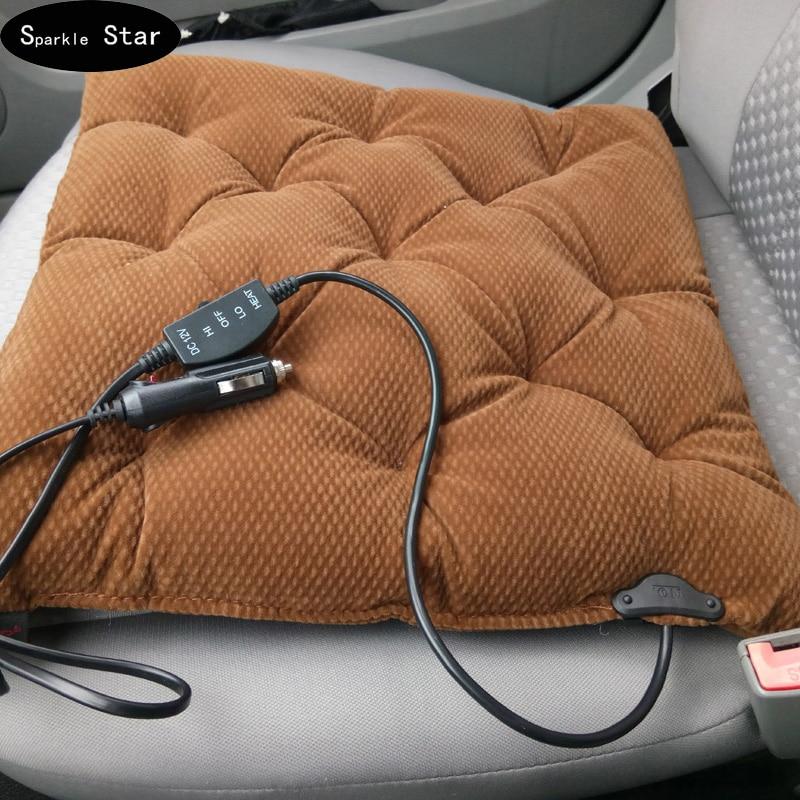 12v Car Seat Heater Thickening Heated Pad Cushion Winter: Aliexpress.com : Buy 12v Carbon Fiber Heating Car Seat