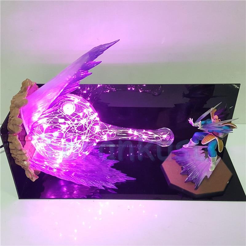 Dragon Ball Z Вегета супер galick Gun DIY сцены набор дракон мяч с изображением супер вегеты Светодиодные ночные огни фигурку аниме фигурка игрушки - 4