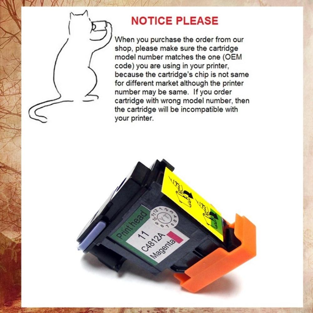 YOTAT M Carcassa testina di stampa C4812A per HP11 HP 11 Testina di Stampa 1000 1100 1200 2200 2280 2300 2600 2800 CP1700 100 500 9100
