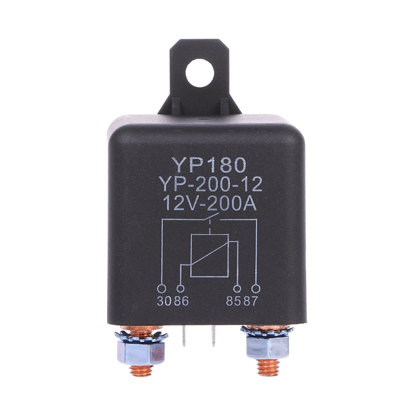 24V/12V DC 200A High Power Car Relay Truck Motor Continuous Type Automotive Switch L15 200a car truck motor automotive high current relay 12v continuous type automotive car relay euipment