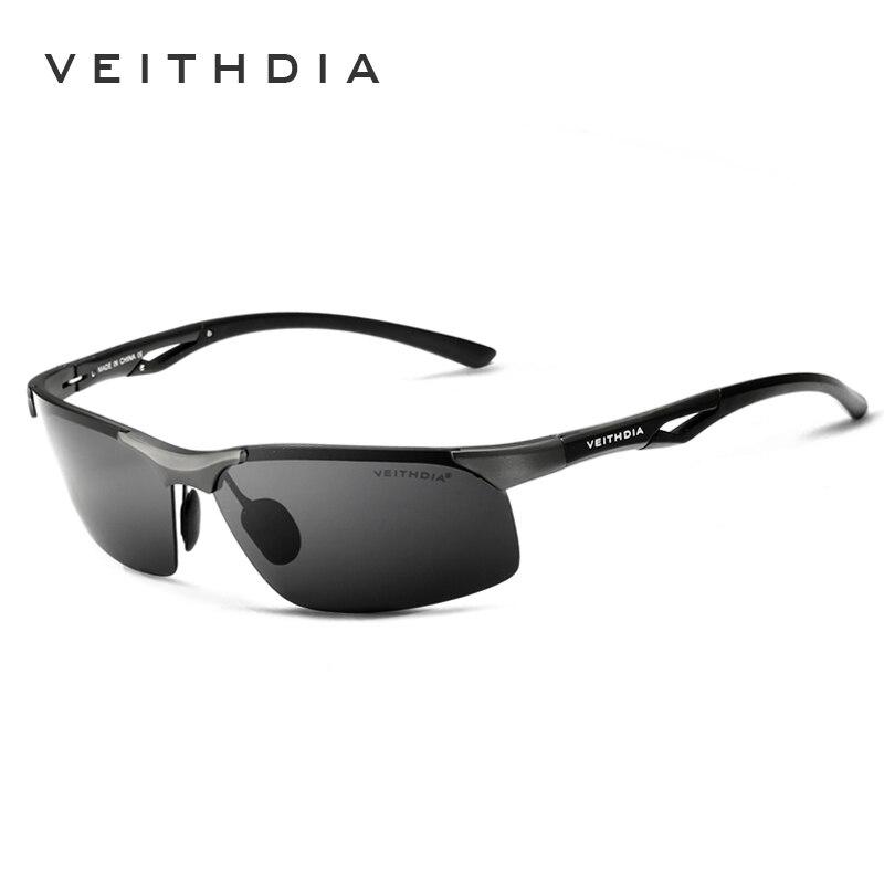 VEITHDIA Aluminio, Magnesio, Marca Clásica, Gafas de Sol para Hombre - Accesorios para la ropa - foto 2
