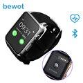 Bluetooth Smart watch GT88 Smartwatch Носимых Устройств MT2502 Поддержка Sim-карты для IOS Android с Монитор Сердечного ритма
