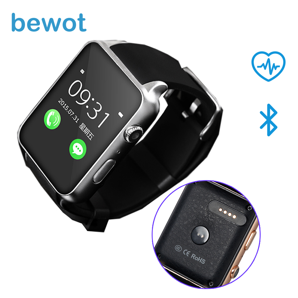 Bluetooth Smart watch GT88 Smartwatch Wearable Devices MT2502 Support SIM Card for IOS Android with Heart Rate Monitor children s smart watch with gps camera pedometer sos emergency wristwatch sim card smartwatch for ios android support english e