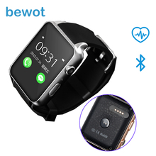 Bluetooth Smart watch GT88 Smartwatch Wearable Devices MT2502 Support SIM Card for IOS Android with Heart Rate Monitor