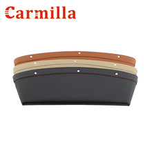 Carmilla Car Seat LeakProof Storage Box Seat Crevice Storage Box Bag Case for Ford Everest 2012 2013 2014 2015 2016 Accessories