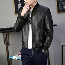 Мужские Куртки из искусственной кожи, мотоциклетные Байкерские Куртки из искусственной кожи, Мужская весенне-летняя одежда, мужские классические тонкие бархатные пальто