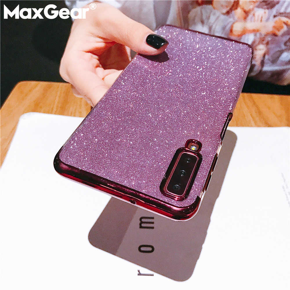 Bling Glitter Shiny Case For Samsung Galaxy M30 A40S A10 A20 A70 A50 A60 A20E A40 2019 Note 8 9 S8 S9 S10 Plus S7 Silicone Cover