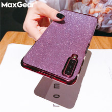 Bling Glitter Shiny Case For Samsung Galaxy M30 A40S A10 A20 A70 A50 A60 A20E A40 2019 Note 8 9 S8 S9 S10 Plus S7 Silicone Cover(China)