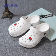 2019 New Summer Thick Sole Cute Nurse Doctor Medical Slip Ladies Slippers Casual Large Size Sandals Slippers White Nurse Shoes