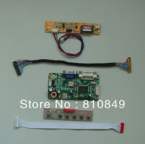 все цены на  DVI+VGA LCD driver board for 17inch~19inch lcd monitor laptop lcd -DIY a monitor  онлайн