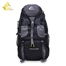 50L Sport Bag Backpack Outdoor Climbing Rucksack Waterproof Mountaineering Hiking Backpacks Molle Camping Bag