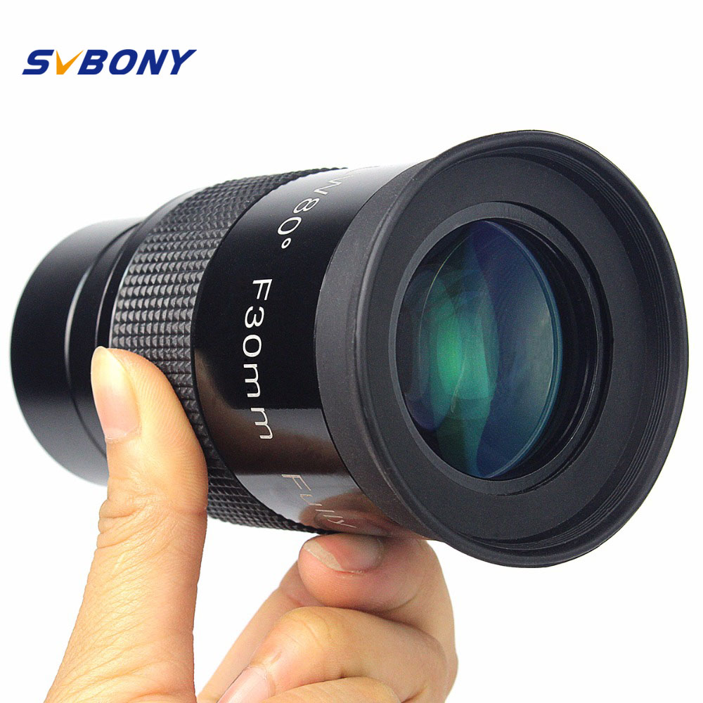 2 F30mm Monocular Telescope Eyepiece Ultra Wide Angle 80 Degree Astronomy FMC Eyepiece w Thread for