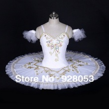 Wholesale!Women Ballet Tutu White Skirt ;Adult Professional Ballerina Dresses;Classical Tutu For Girls, Dance Costumes AT0010