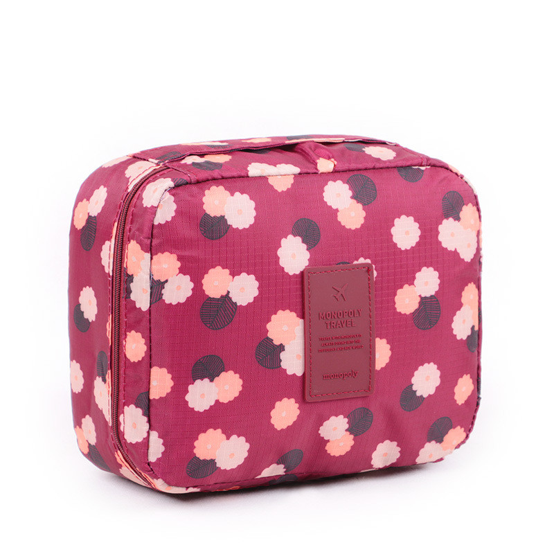 Beautician Necessaire Cosmetic Bag Beauty Vanity Cases Travel Toiletry Wash Bra Underwear Make Up Box Bag Organizer Accessories