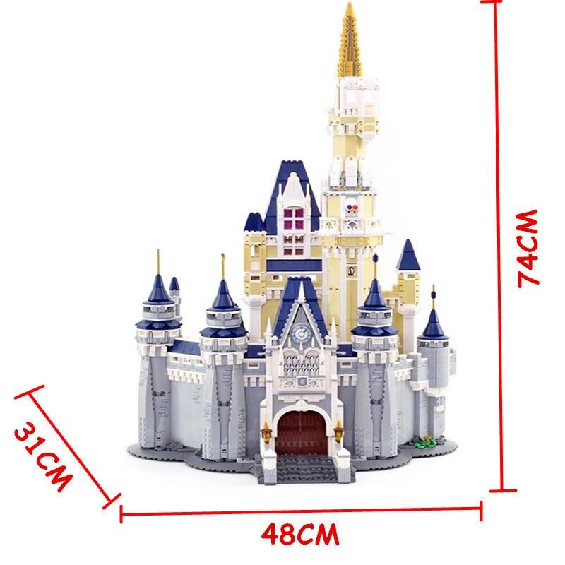 Lepinblocks 16008 16060 فتاة الأصدقاء اللبنات سندريلا الأميرة القلعة 71040 71043 الأفلام نموذج الطوب اللعب هدية-في حواجز من الألعاب والهوايات على  مجموعة 3