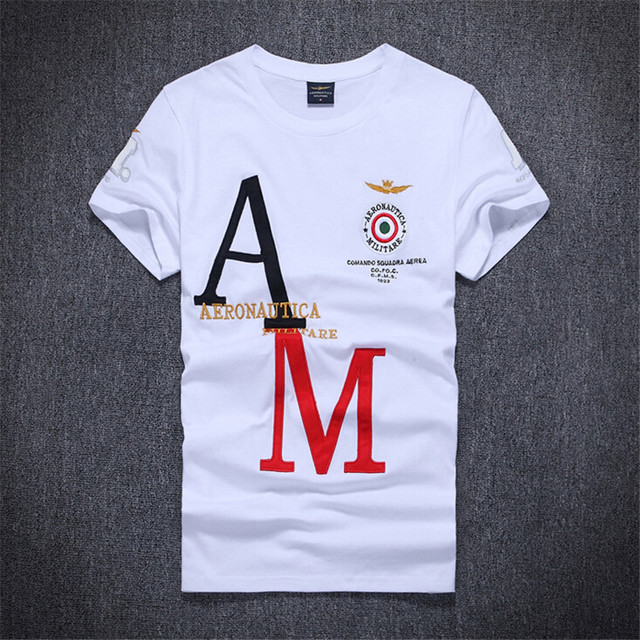 Brand Clothes Male T Shirts With Print Letter Summer Men Short Sleeve Tops Designer aptitud Embroidery Eagle Cotton T shirt B006