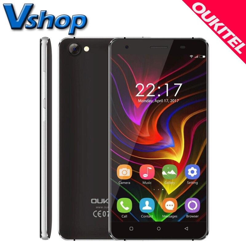 Original oukitel c5 3g teléfonos móviles android 7.0 2 gb ram 16 gb ROM Quad Cor