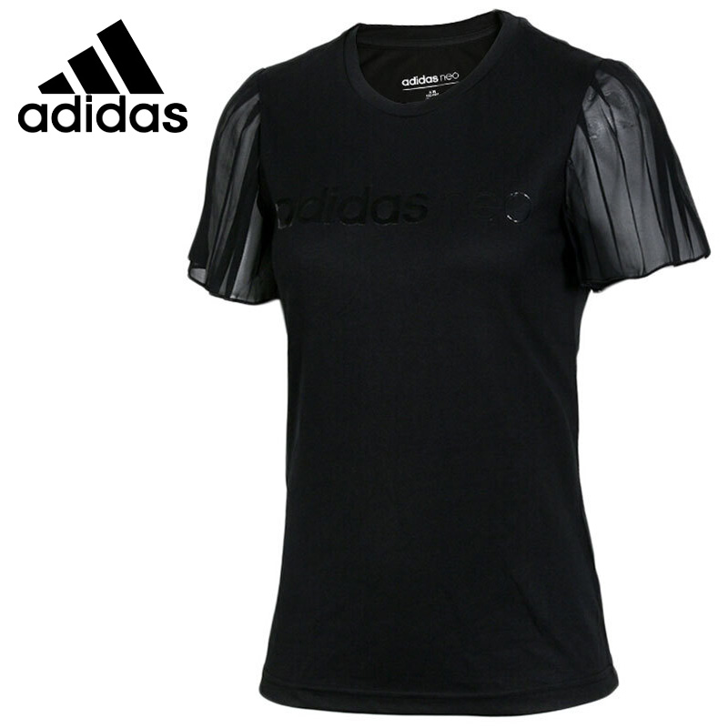 Original New Arrival 2018 Adidas Neo Label W CS PLTS TEE Women's T-shirts short sleeve Sportswear