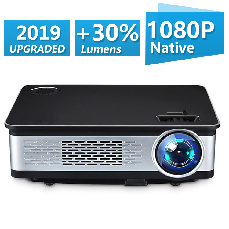 Unlimitv 1920 1080p Full HD Projector 150 big screen 3500 High Brightness video home theater projector