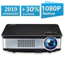 Unlimi ТВ 1920*1080 p проектор Full HD 150 большой экран 3500 высокое Яркость видео проектор для домашнего кинотеатра Совместимость ТВ BOX, PC, ps4