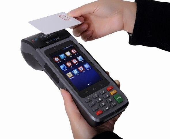 Terminal de point de vente Mobile sans fil tenu dans la main de lecteur de PDA RFID du lecteur TPS390 PDA