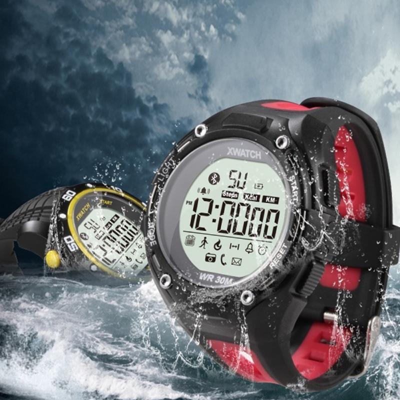 Original XWatch Bluetooth 4.0 Smart Watch IPS Round Screen Waterproof Sports Ped