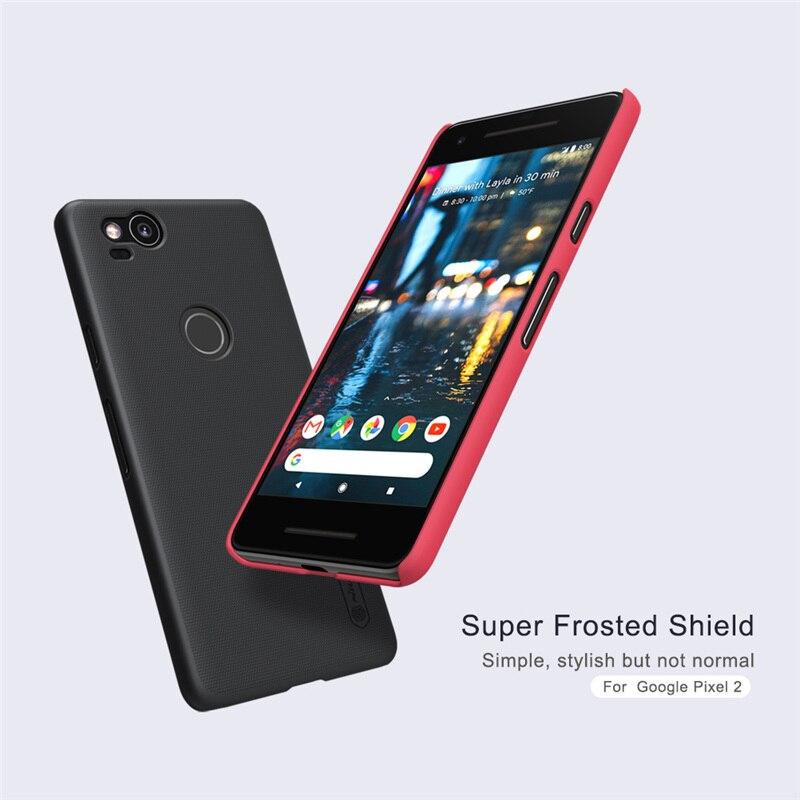 Wholesale 10Pcs/Lot Nillkin Case For Google Pixel 2 Cover Plastic Case For Google Pixel 2 Super Frosted Shield