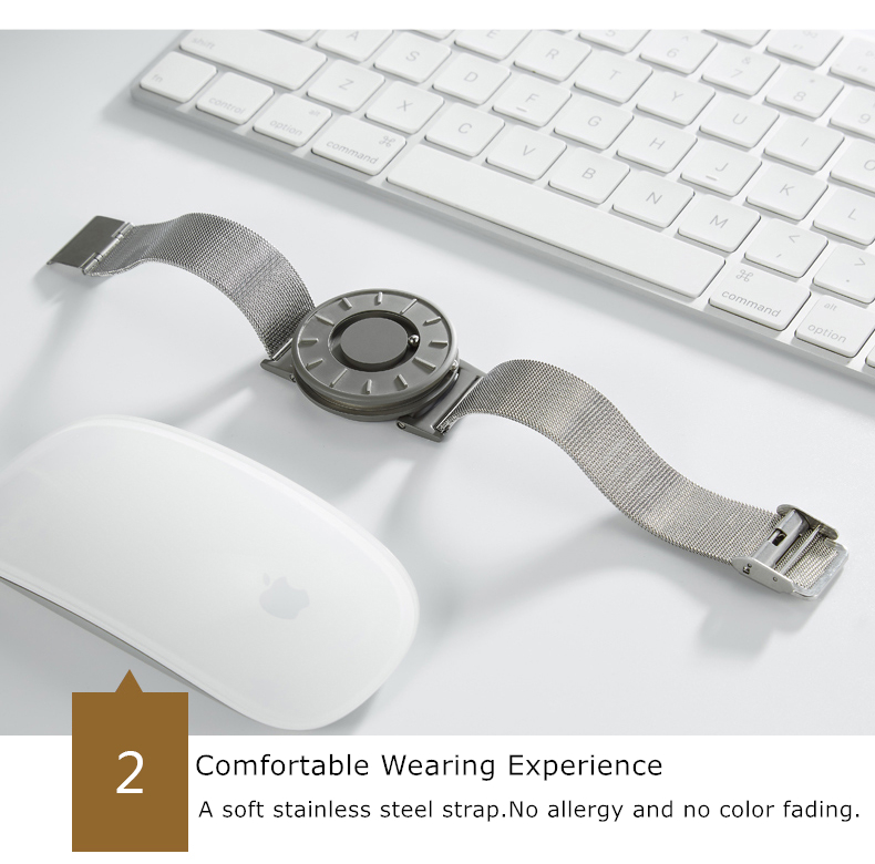 Magnetic Bearing Wrist Watch