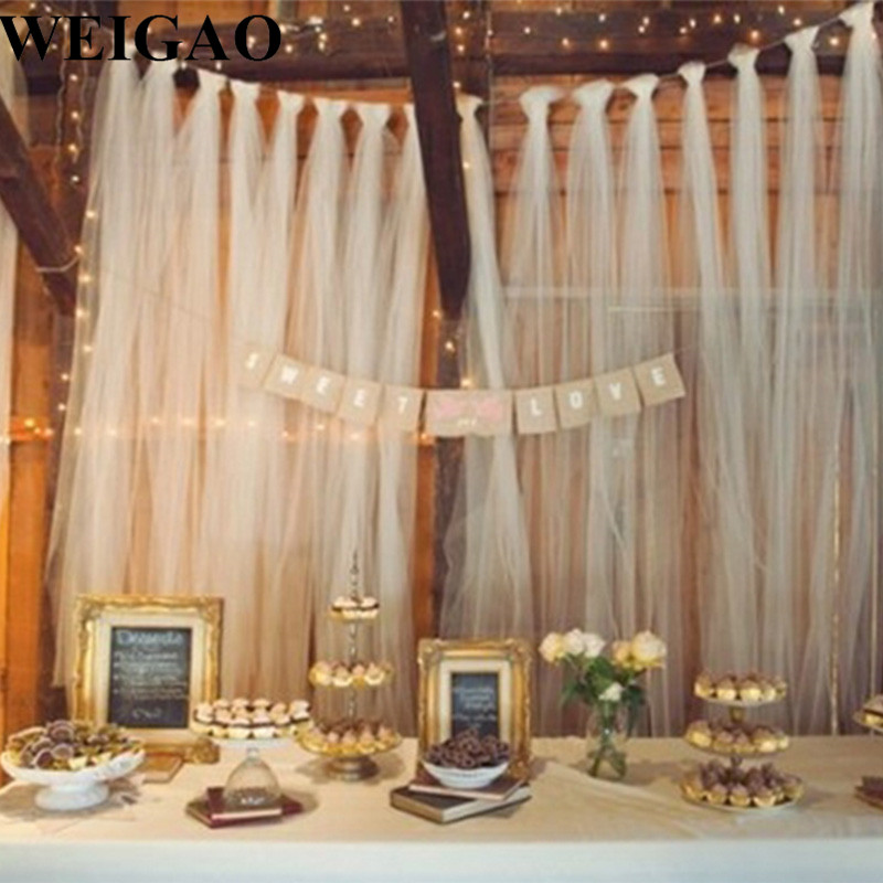 weigao tulle wedding decoration 100yard tulle roll mariage tulle lace fabric birthday party. Black Bedroom Furniture Sets. Home Design Ideas