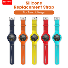 цена на SIKAI Silicone Watchband For Huami Amazfit Verge 3 Smartwatch High-quality Strap Replacement Bracelet For Huami Amazfit 3 band